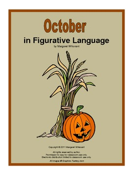 Figurative Language for October:  Simile, Metaphor, Hyperb
