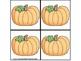 October/November Fall Pumpkin Activities