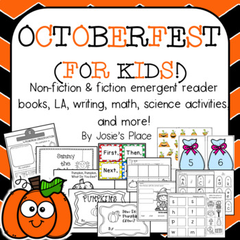 Octoberfest for Kids! Emergent readers, L.A., science and