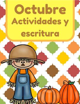 Octubre actividades y escritura- otoño (October Activities