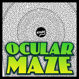 Ocular Maze - Intricate, full-page maze activity