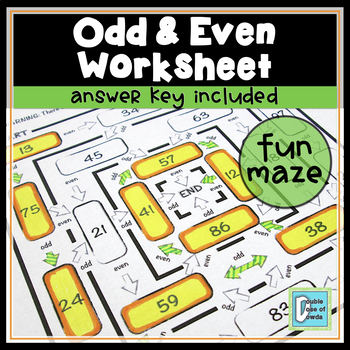 Odd Even Maze