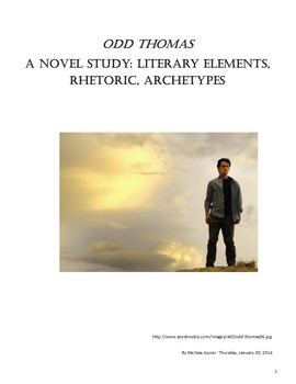 Odd Thomas- Journal Questions