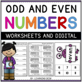 Odd and Even Numbers Practice