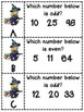 Odd and Even Numbers Write the Room