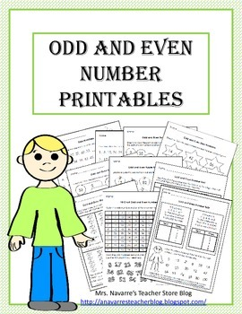 Odd and Even Printables
