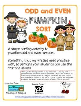 Odd and Even Pumpkin Sort