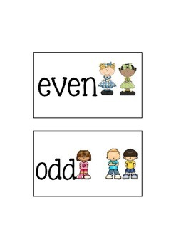 Odd and Even Signs