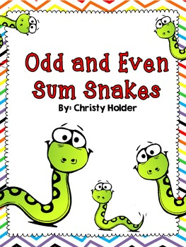Odd and Even Snake Sums