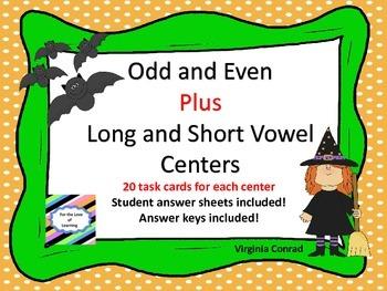 Odd or Even Center plus Long and Short Vowel Center--Hallo