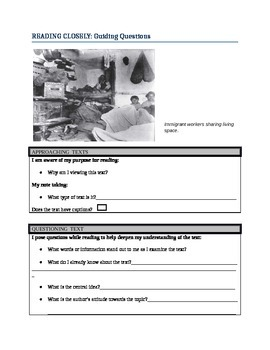 Odell Education/Reading Closely Modified Handout