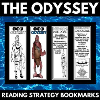 The Odyssey Novel Study Unit Reading Comprehension