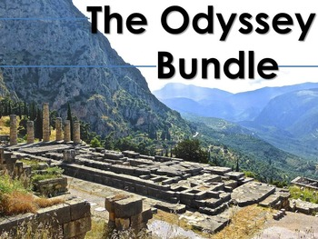 Odyssey Bundle: Blog, Gallery Walk, and Resume Activities