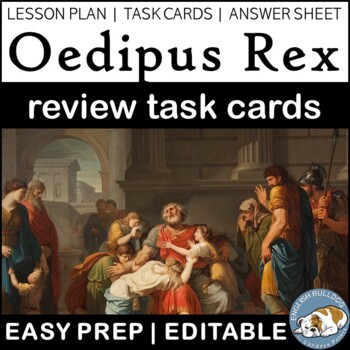 Oedipus Review Task Cards