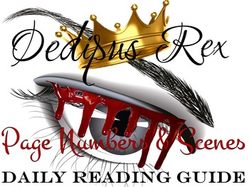 Oedipus Rex Daily Reading Guide with Page Numbers