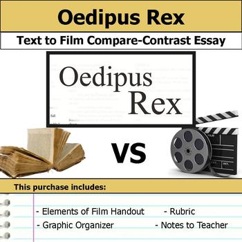 Oedipus Rex or Oedipus the King - Text to Film Essay Bundle