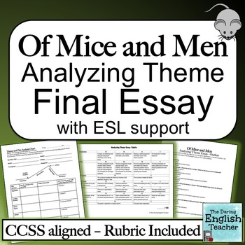 Of Mice and Men Analyzing Theme Essay