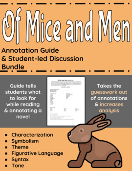 Of Mice and Men Annotation Guide and Student-led Discussio