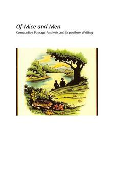 Of Mice and Men:  Comparative Passage Analysis and Exposit