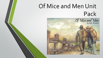 Of Mice and Men Unit Pack
