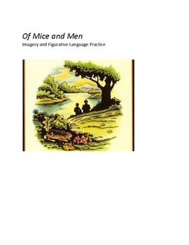 Of Mice and Men - Imagery and Figurative Language Practice