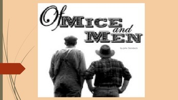 Of Mice and Men Introductory PowerPoint