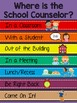 Colorful Office Signs for Counselors, Psychologists, and S
