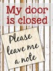 Editable Office Signs for Counselors, Psychologists, & Soc