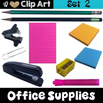 Office Supplies Clip Art