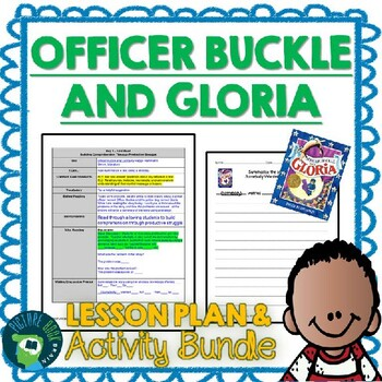 Officer Buckle and Gloria 4-5 Day Lesson Plan
