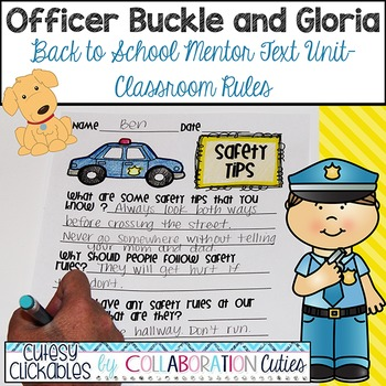 Officer Buckle and Gloria {Back to School Mentor Text Unit