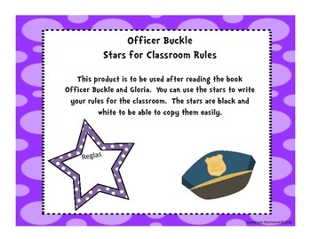 Officer Buckle and Gloria Classroom Rules in Spanish