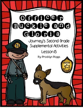 Officer Buckle and Gloria Journey's Activities - Second Gr