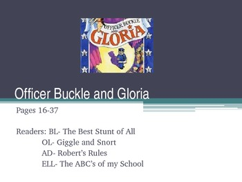 Officer Buckle and Gloria Powerpoint