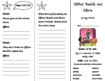 Officer Buckle and Gloria Trifold - Journeys 2nd Gr Unit 3