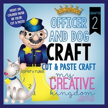 Officer and Dog Craft Bundle