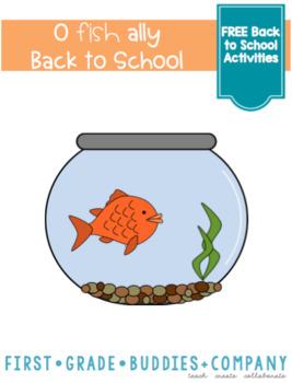 O'fish'ally Back to School Freebie