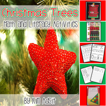 Christmas Trees- Activities and Games for Literacy and Math
