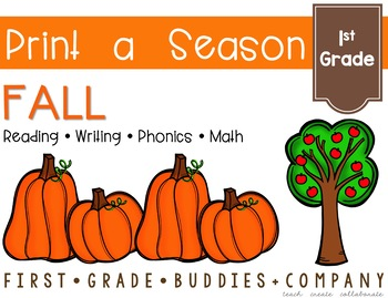 Print a Season: Fall {Math and ELA Printables}