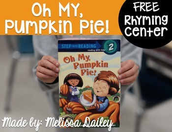 Oh My, Pumpkin Pie {FREE}