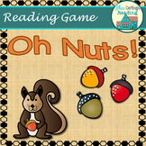 Oh Nuts! A closed syllable with blends review board game