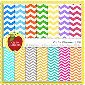 Oh So Chevron {Papers for Commercial Use}