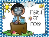 Oh no, insect or not?