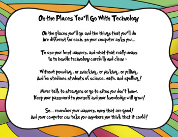 Oh the Places You'll Go with Technology - Dr. Seuss Digita