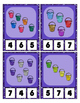 Ohhh Sparkle Sand Pails / Buckets Counting to 20 Clip Card