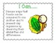 Ohio 4th Grade Life Science Standards- I Can Statements