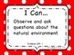 Ohio Academic Content Standards for Science Grade 4: I Can