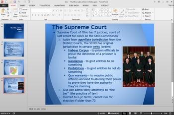 Ohio Government - The Ohio Judicial Branch