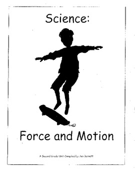 Ohio Science Grade 2 Forces & Motion Physical Science