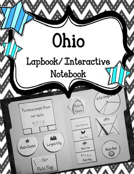 Ohio State Lapbook. Interactive Notebook. US History and G